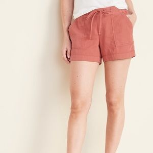 OLD NAVY Relaxed Mid-Rise Soft Shorts for Women